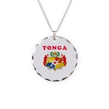 Tonga Coat Of Arms Designs Necklace