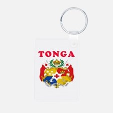Tonga Coat Of Arms Designs Keychains