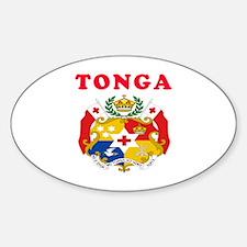 Tonga Coat Of Arms Designs Decal