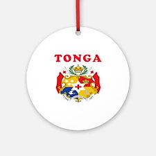 Tonga Coat Of Arms Designs Ornament (Round)