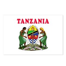 Tanzania Coat Of Arms Designs Postcards (Package o