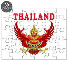 Thailand Coat Of Arms Designs Puzzle