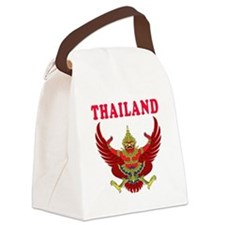 Thailand Coat Of Arms Designs Canvas Lunch Bag