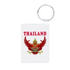 Thailand Coat Of Arms Designs Keychains