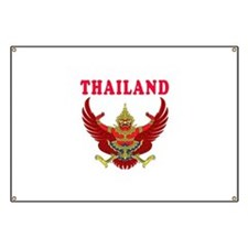Thailand Coat Of Arms Designs Banner