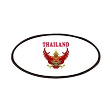Thailand Coat Of Arms Designs Patches