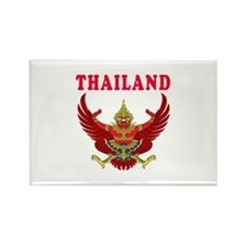 Thailand Coat Of Arms Designs Rectangle Magnet