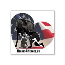 Hearts4Heroes Sticker