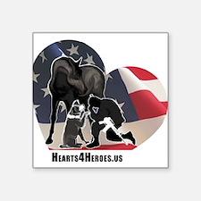 Hearts4Heroes Sticker
