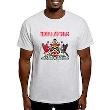 Trinidad and Tobago Coat Of Arms Designs T-Shirt