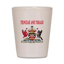 Trinidad and Tobago Coat Of Arms Designs Shot Glas