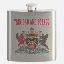 Trinidad and Tobago Coat Of Arms Designs Flask