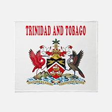 Trinidad and Tobago Coat Of Arms Designs Throw Bla