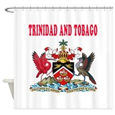 Trinidad and Tobago Coat Of Arms Designs Shower Cu
