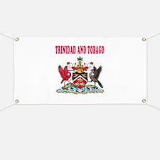 Trinidad and Tobago Coat Of Arms Designs Banner