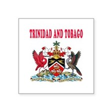 Trinidad and Tobago Coat Of Arms Designs Square St