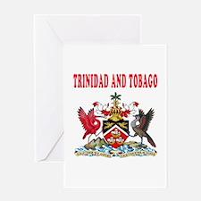 Trinidad and Tobago Coat Of Arms Designs Greeting