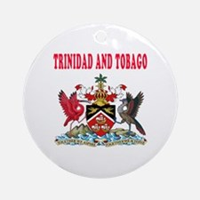 Trinidad and Tobago Coat Of Arms Designs Ornament