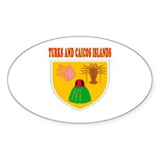 Turks and Caicos Islands Coat Of Arms Designs Stic