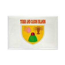 Turks and Caicos Islands Coat Of Arms Designs Rect