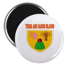 Turks and Caicos Islands Coat Of Arms Designs Magn