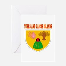 Turks and Caicos Islands Coat Of Arms Designs Gree