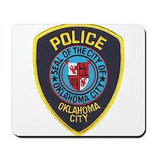 OK City Police Mousepad