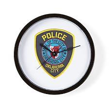 OK City Police Wall Clock