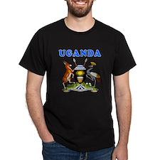 Uganda Coat Of Arms Designs T-Shirt