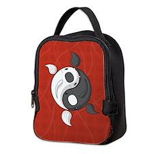 Yin and Yang Neoprene Lunch Bag