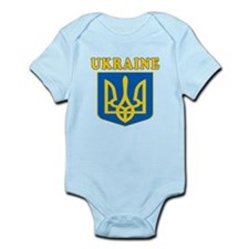 Ukraine Coat Of Arms Designs Infant Bodysuit