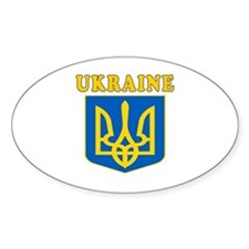 Ukraine Coat Of Arms Designs Decal