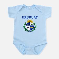 Uruguay Coat Of Arms Designs Infant Bodysuit
