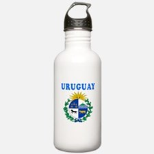 Uruguay Coat Of Arms Designs Water Bottle