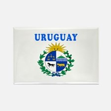 Uruguay Coat Of Arms Designs Rectangle Magnet