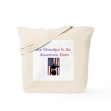 American Hero Grandpa Tote Bag