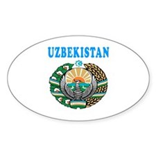 Uzbekistan Coat Of Arms Designs Decal