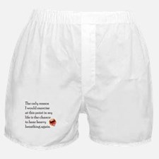 Breating Hard Boxer Shorts