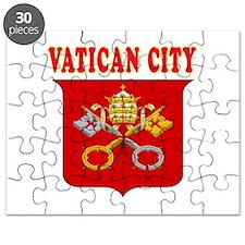 Vatican City Coat Of Arms Designs Puzzle