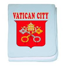 Vatican City Coat Of Arms Designs baby blanket