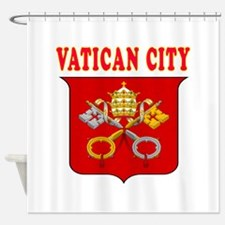 Vatican City Coat Of Arms Designs Shower Curtain