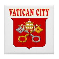 Vatican City Coat Of Arms Designs Tile Coaster