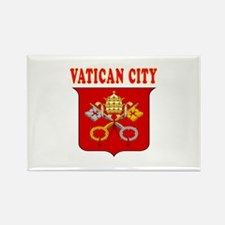 Vatican City Coat Of Arms Designs Rectangle Magnet