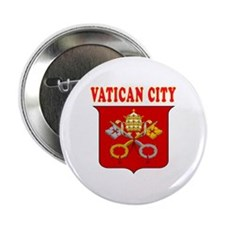 "Vatican City Coat Of Arms Designs 2.25"" Button"