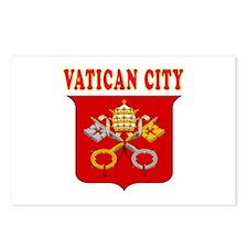 Vatican City Coat Of Arms Designs Postcards (Packa
