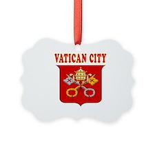 Vatican City Coat Of Arms Designs Ornament