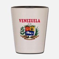 Venezuela Coat Of Arms Designs Shot Glass