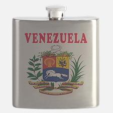 Venezuela Coat Of Arms Designs Flask