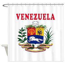 Venezuela Coat Of Arms Designs Shower Curtain