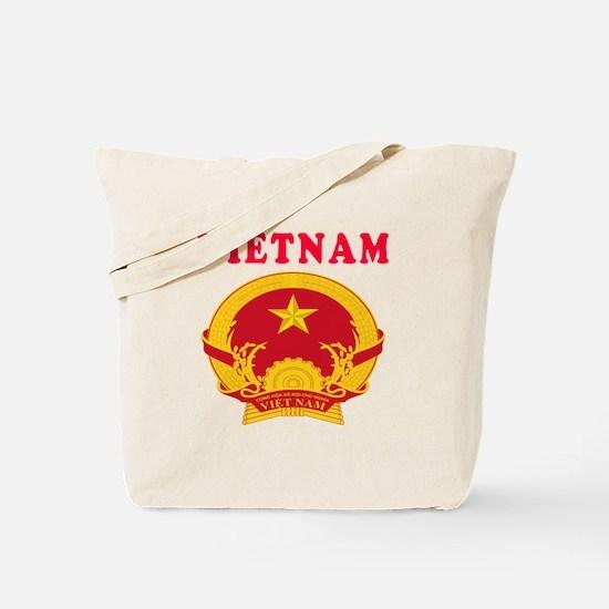 Vietnam Coat Of Arms Designs Tote Bag